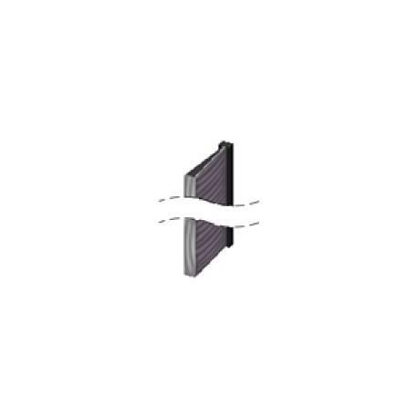 Brush strip (2.1 meters/un.) 60 (RSCOLOR, RS-EKO, RS-KRYSTAL)