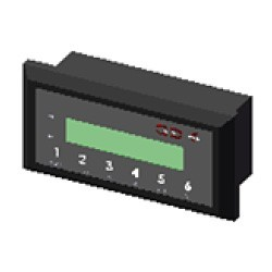 LCD control unit GSRD-03 with power supply