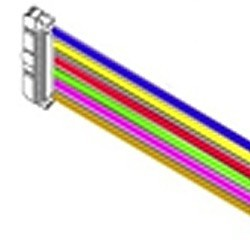Colours flat wire