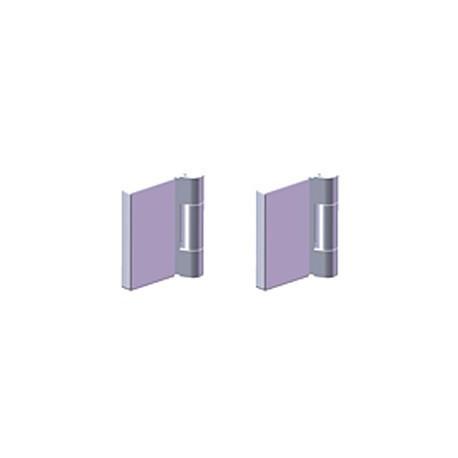 Stainless steel hinge for swing doors HS-202B/HS-402B